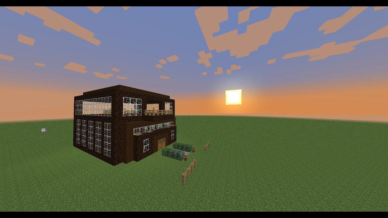 Minecraft building designs 1 lots of windows youtube for Window design minecraft
