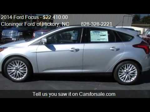 2014 Ford Focus Titanium - for sale in Hickory, NC 28602