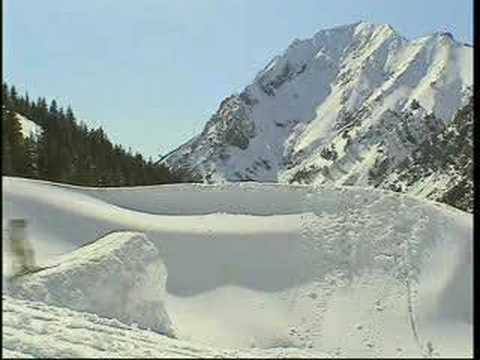 スキーでジャンプした結末はいかに!?