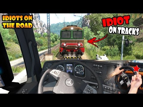★ IDIOTS on the road #64 - ETS2MP | Funny moments - Euro Truck Simulator 2 Multiplayer