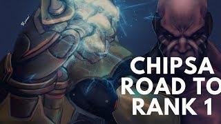 Overwatch Rank 1 Doomfist Chipsa Playing For Global Rank 1