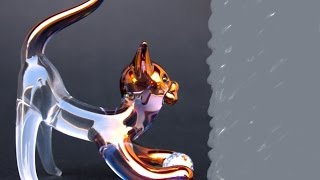 How To Make a Glass Kitten Replica