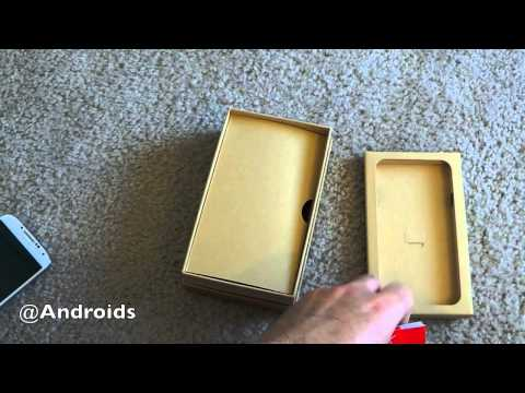 Verizon Samsung GALAXY S 4 hands-on and unboxing