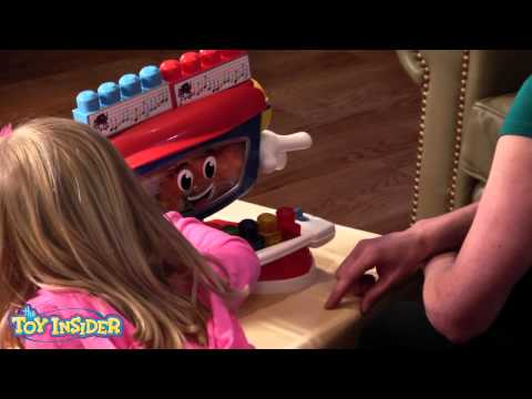 Mega Bloks First Builders Billy Beats Dancing Piano—Toy Insider Kids Review