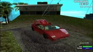 [GTA SA Mod Showcase] 1988 Lamborghini Countach 5000QV