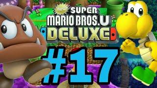 New Super Mario bros  U Deluxe #17 Weiter geht es im Dschungel der Riesen!