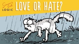 Do Cats Really Hate Water? - Simon's Cat | LOGIC #9