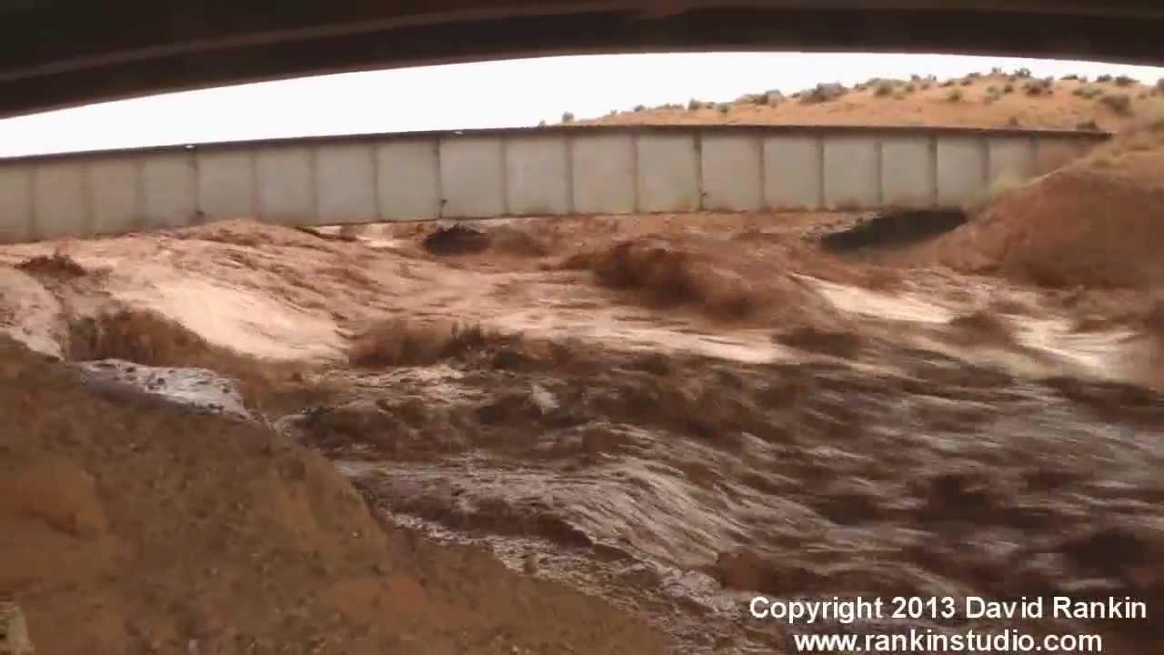 Insane Flash Flooding Antelope Canyon And Page Arizona