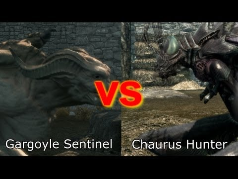 Skyrim Battle - Strongest Creature in Dawnguard Music Videos