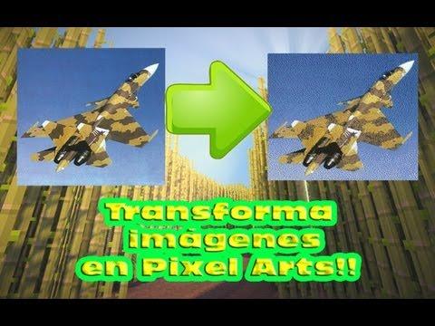 Minecraft: Crear pixel arts a partir de imágenes. Spritecraft & MCedit+ Descarga