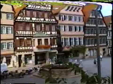 (Part 4 of 13) Summer 1996 Germany Trip - Tbingen, Germany
