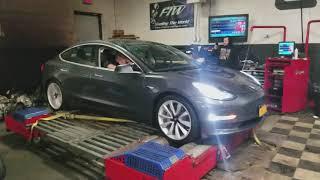 First Ever Tesla Model 3 Dyno