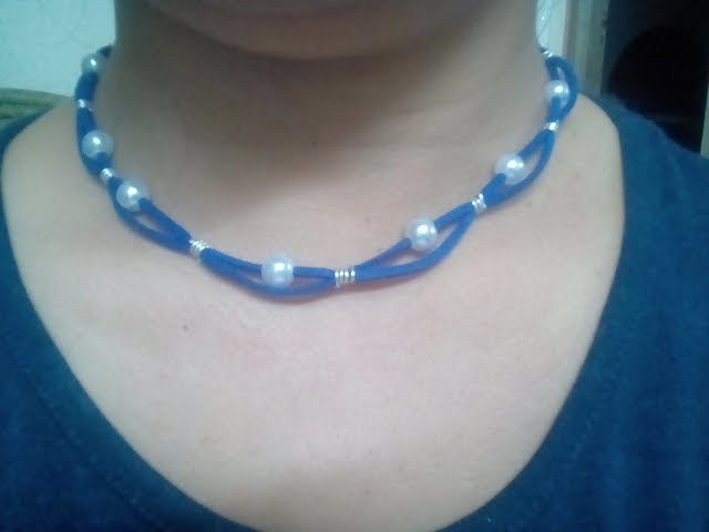 DIY Jewelry Making Ideas - How to Make a Simple Beading Necklace + Tutorial !