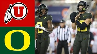 #5 Utah vs #13 Oregon First Half Highlights | College Football Highlights