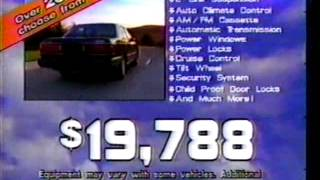 Red McCombs Mazda 929 Commerical July 1988