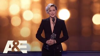 Evan Rachel Wood Wins Best Actress in a Drama Series | 22nd Annual Critics' Choice Awards | A&E