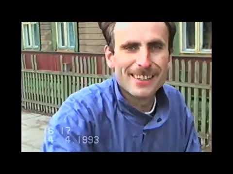 Осиповичи 1993г. Экскурсия по городу - 3! Беларусь