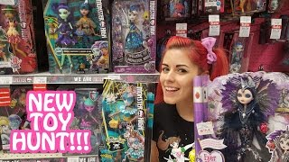 Toy Hunting NEW Monster High, Pokemon, Betty Spaghetty and More