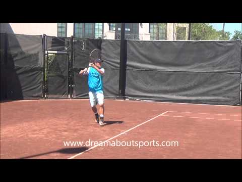 Lleyton Hewitt practice at Men's clay court tournament