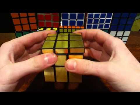 Shengshou Gold 3x3 Mirror Cube