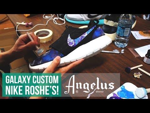 How to make Galaxy Roshe Run's using Angelus Paint