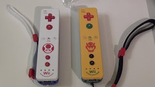 [Unboxing] Bowser & Toad Wii Remotes