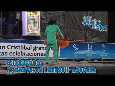 Festival voz edel llamo, Estado guarico