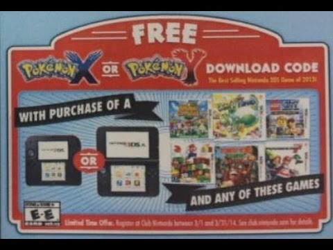 Club Nintendo Giving Free Copies Of Pokemon X and Y To The New 3DS Owners?!