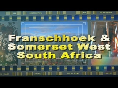 Visit Franschhoek in the Cape Winelands South Africa - Africa Travel Channel