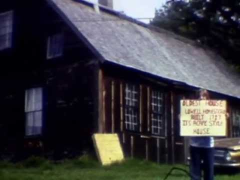 Richard Boisseau film of class tour of Danville historical sites--ca 1970s