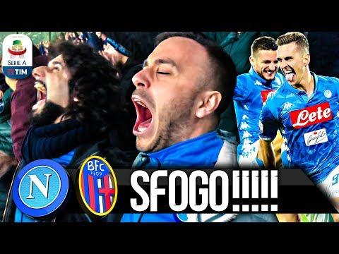 intervista di Paolo Del Genio, dopo Napoli - Bologna