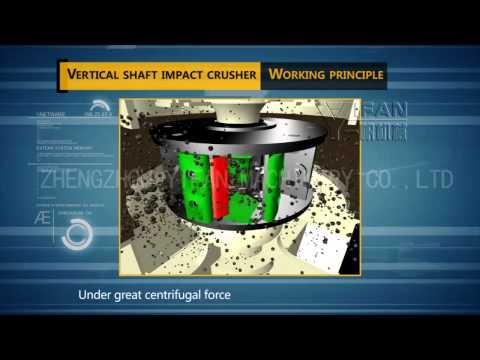 Sand making machine working principle,VSI impact crusher,Vertical Shaft Impact Crusher