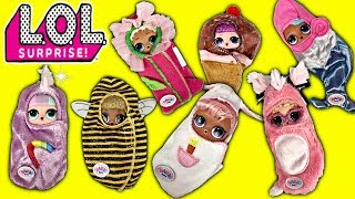 LOL Surprise Dolls Queen Bee Has A Sleepover! LOL Dolls Slumber Party At LOL House W/ Sleeping Bags!