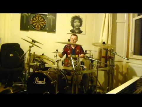 Manic Street Preachers  A Design For Life Drum Cover John Findlay