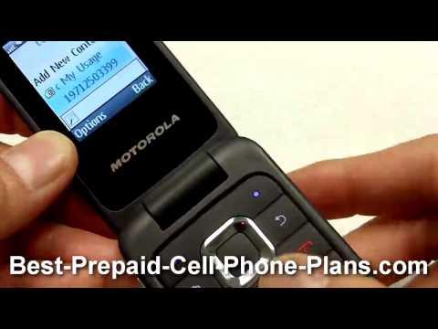 Motorola WX345 from Consumer Cellular