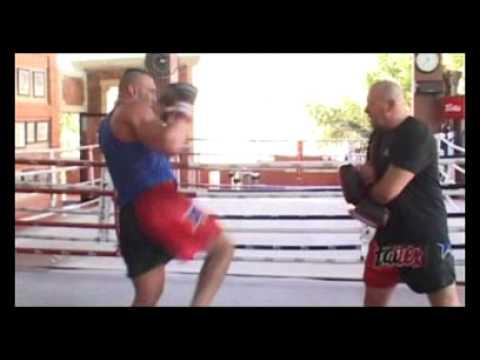 Jerome Le Banner; K-1 Superstar, training at Fairtex Pattaya