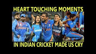 Top Heart Touching Sad & Emotional Moments in Cricket
