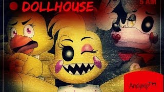 DOLLHOUSE 【fnaf LADIES NIGHT】 =lyrics=