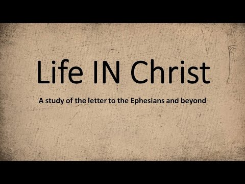 10/4/15 - Life IN Christ, Part IV ~ Pastor Michael Murray