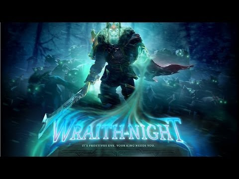 Dota 2 Wraith Night (Gameplay)
