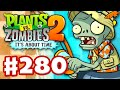 Plants vs. Zombies 2: It's About Time - Gameplay Walkthrough Part 280 - Tiki Torch-er! (iOS)