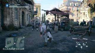 Assassin's Creed Unity Xbox One gameplay: Versailles