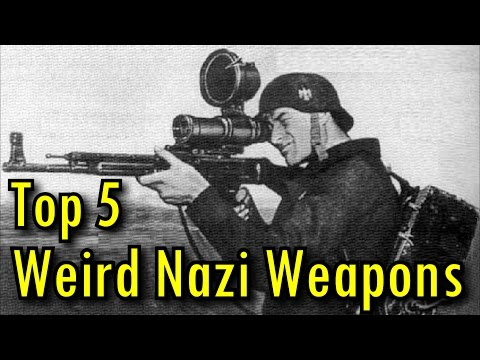 Top 5 Weird WW2 German Weapons