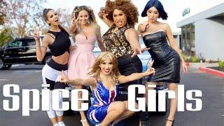 Spice Girls Halloween Makeup Tutorial