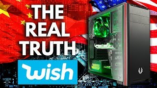 I Built A PC with Parts from WISH and got SCAMMED !