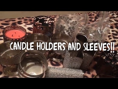 Bath and Body Works Kohl's Candle Sleeves and Holders