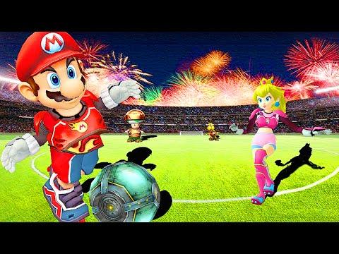 Убойный футбол с Марио