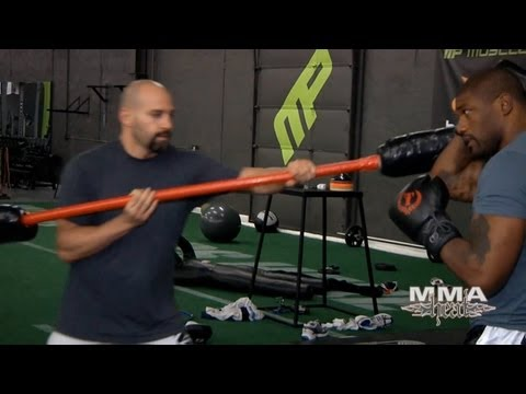 UFC 135 Exclusive: Rampage Jackson's Training, 4 Days Before Jon Jones Fight Image 1