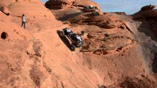 """Youve Got To Be SUPER Nuts"" Sand Hollow Rock Crawling Extreme"