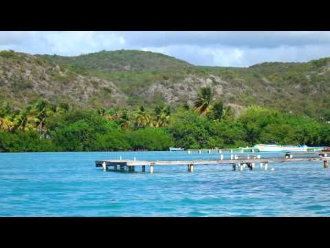 Ferry Ride returning from Cayo Aurora (Gilligans Island) to...